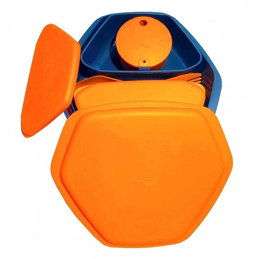 ست ظروف سفری کریویت نارنجی