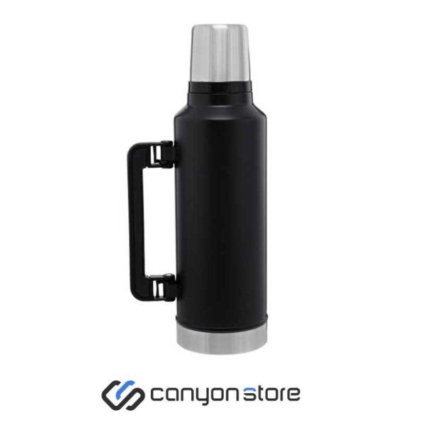 فلاسک 1.3 لیتری - Vacum Steel Flask مشکی