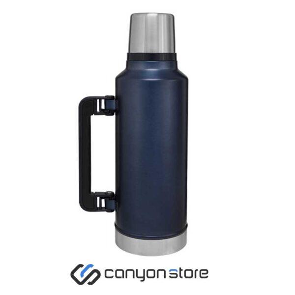 فلاسک 1.3 لیتری - Vacum Steel Flask sسورمه ای