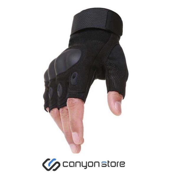 دستکش نیم انگشت اوکلی-مشکی