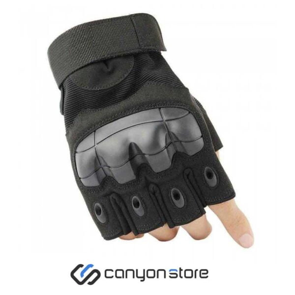 دستکش فنی نیم انگشت - Tactical Gloves -مشکی
