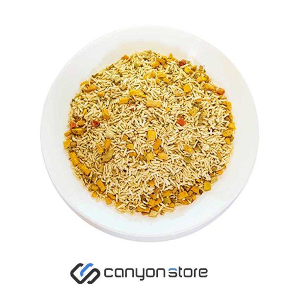غذای خشک انجمادی -برنج و سبزیجات -دونفره