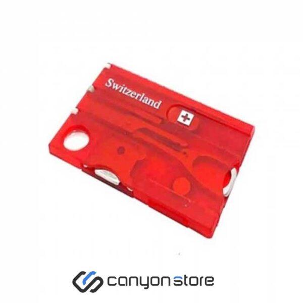 ابزار چند کاره سوییسی - Switzerland-قرمز