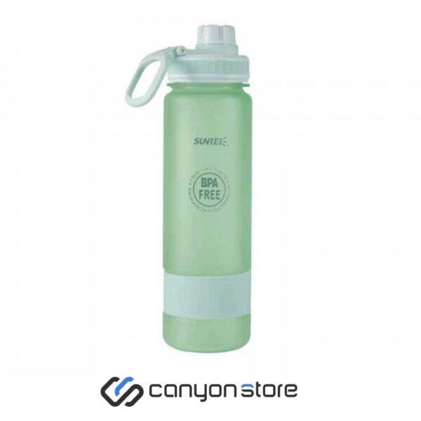 بطری آب 900 میلی لیتری سانری-سبز
